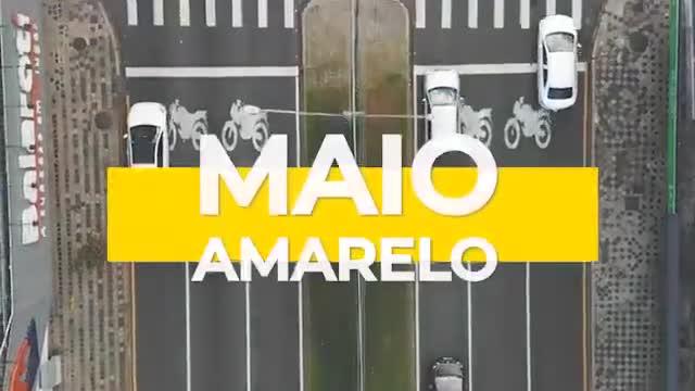 Vídeo do Trânsito de Curitiba - Maio Amarelo 2021