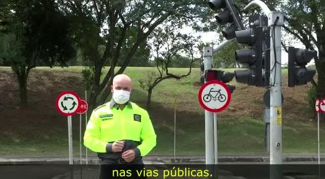 Vídeo Respeito e Responsabilidade - Ciclista