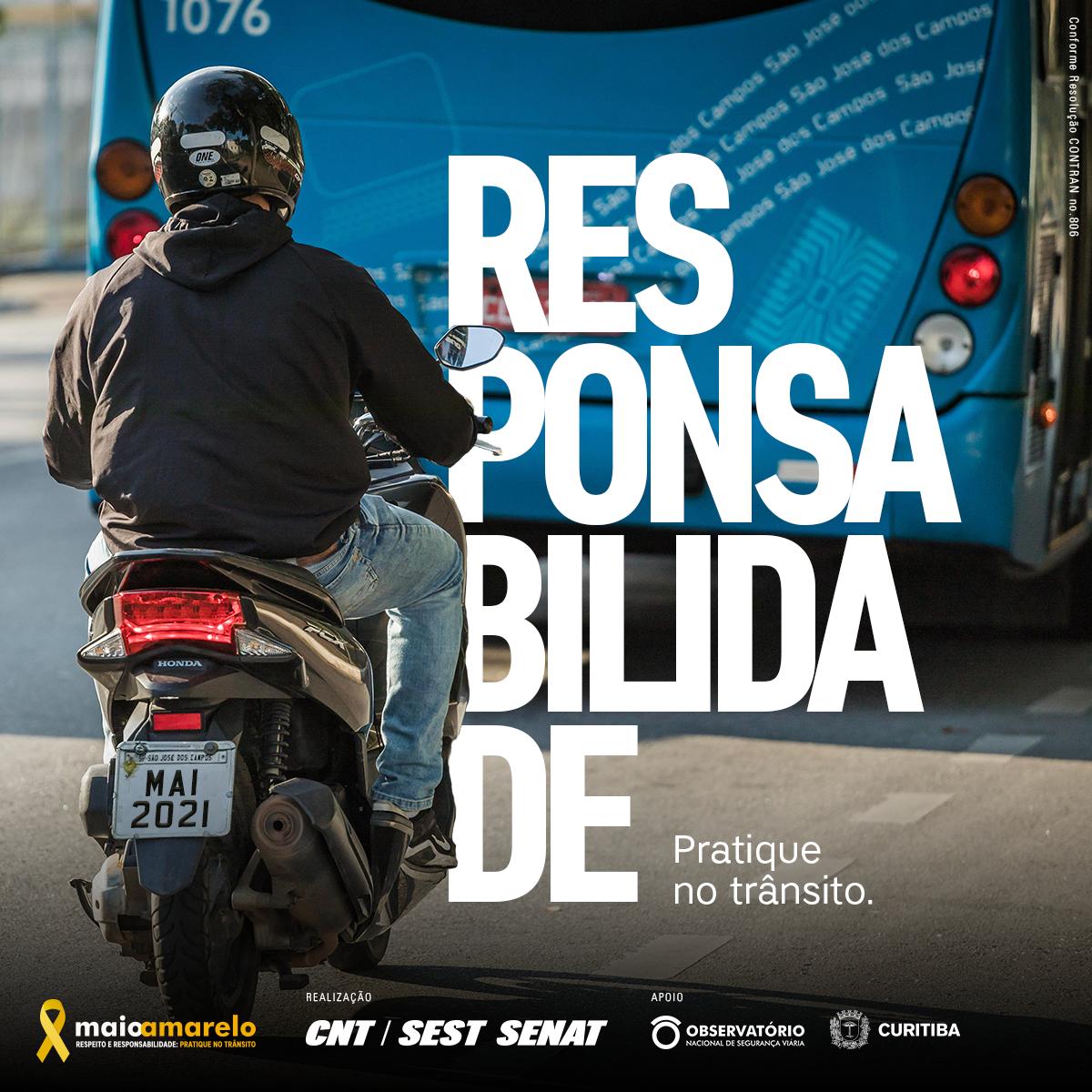 Responsabilidade - Motociclista